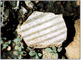 Chimney Rock Pottery Sherd